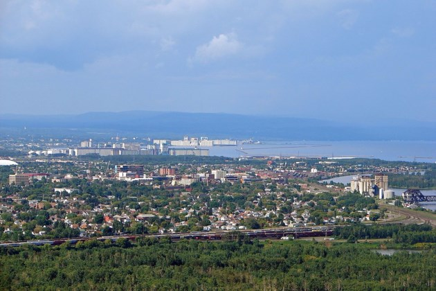 Thunder Bay from Mt McKay