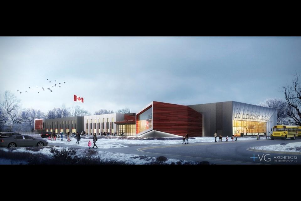 Conceptual drawings of the new elementary school. (Lakehead Public School Board).