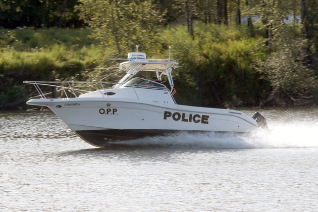 OPP Dive Team Boat