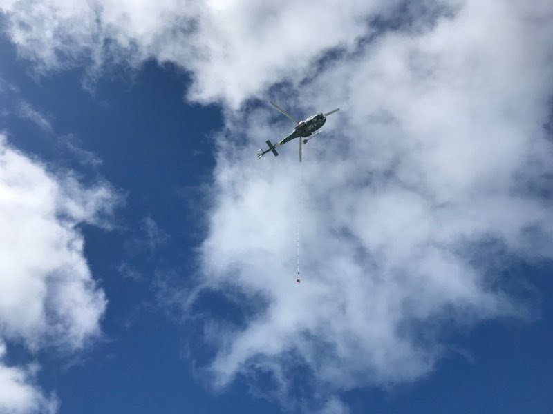 helicopter aerial