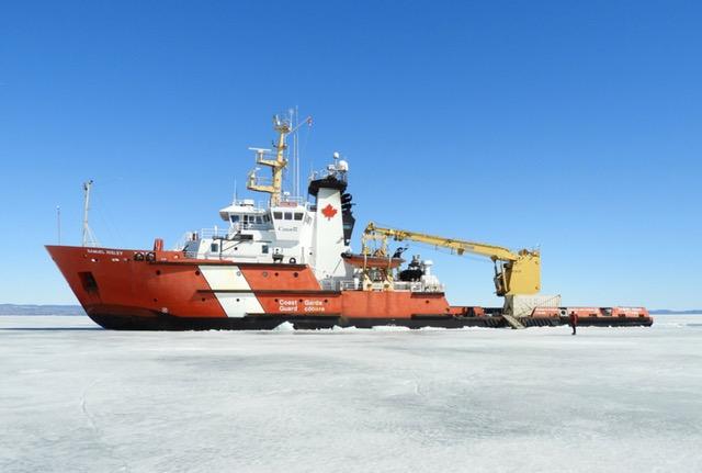 Shipping lobby group says Lake Superior needs more icebreaking capacity
