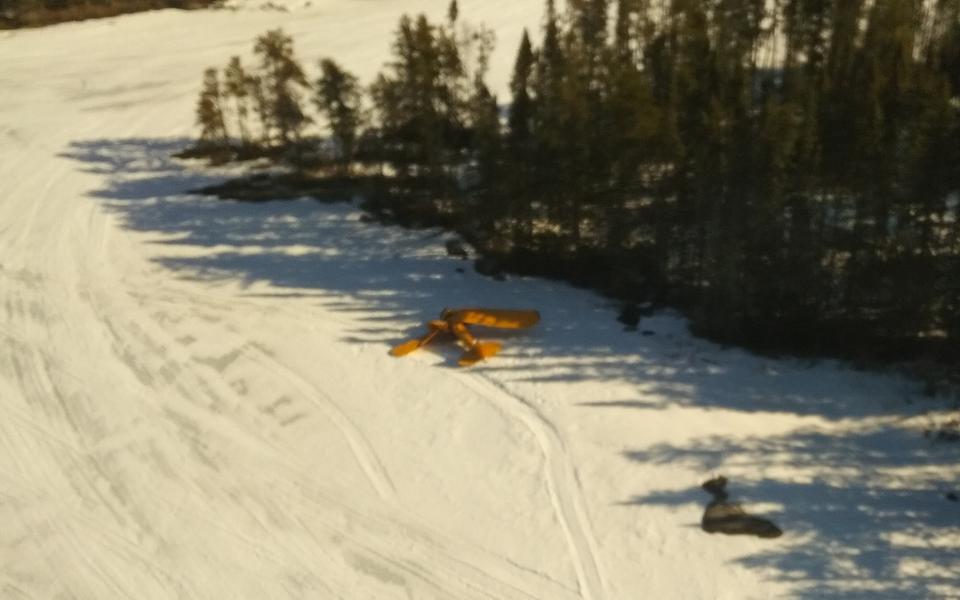 Snowshoe Lake plane crash one