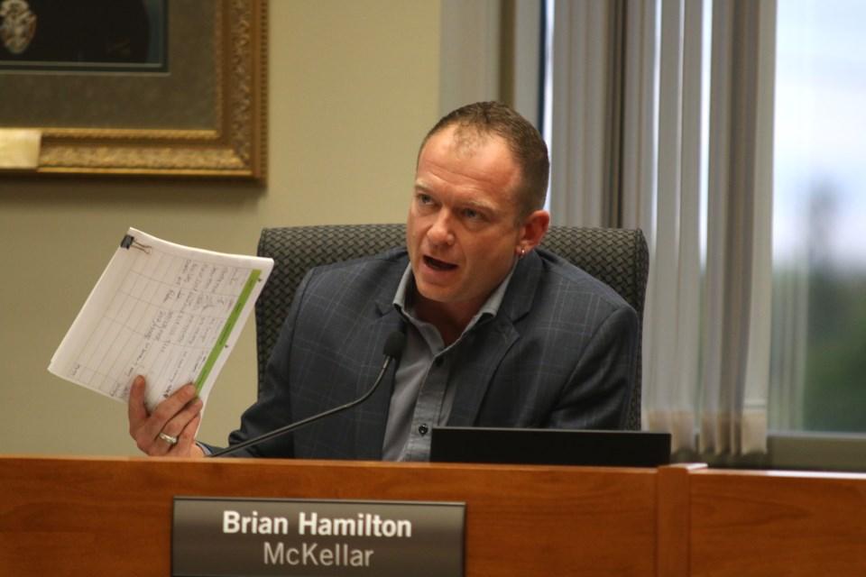 Councillor Brian Hamilton