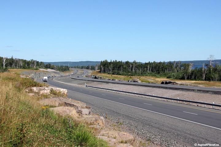 Highway twinning Thunder Bay to Nipigon