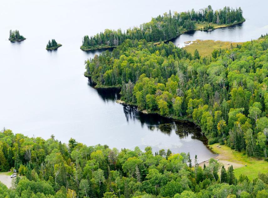 Hazelwood Lake conservation area