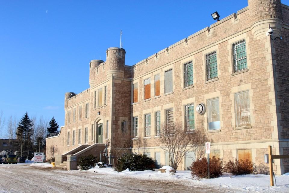 Thunder Bay District Jail Winter