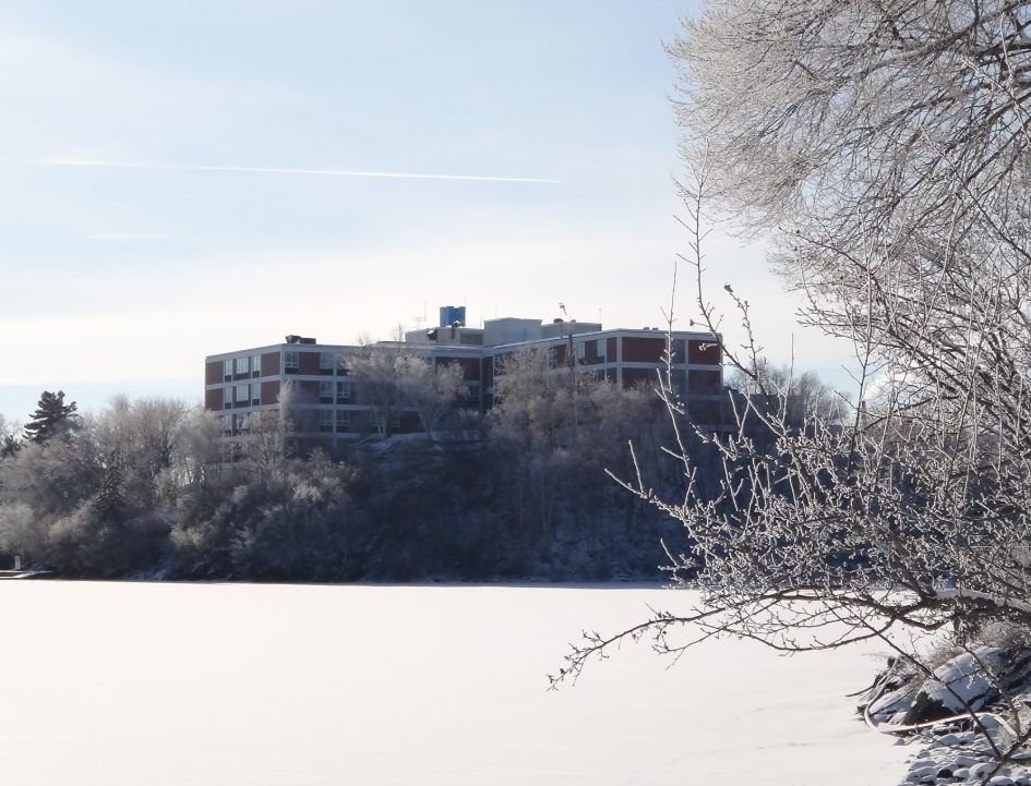 Lake of the Woods hospital winter