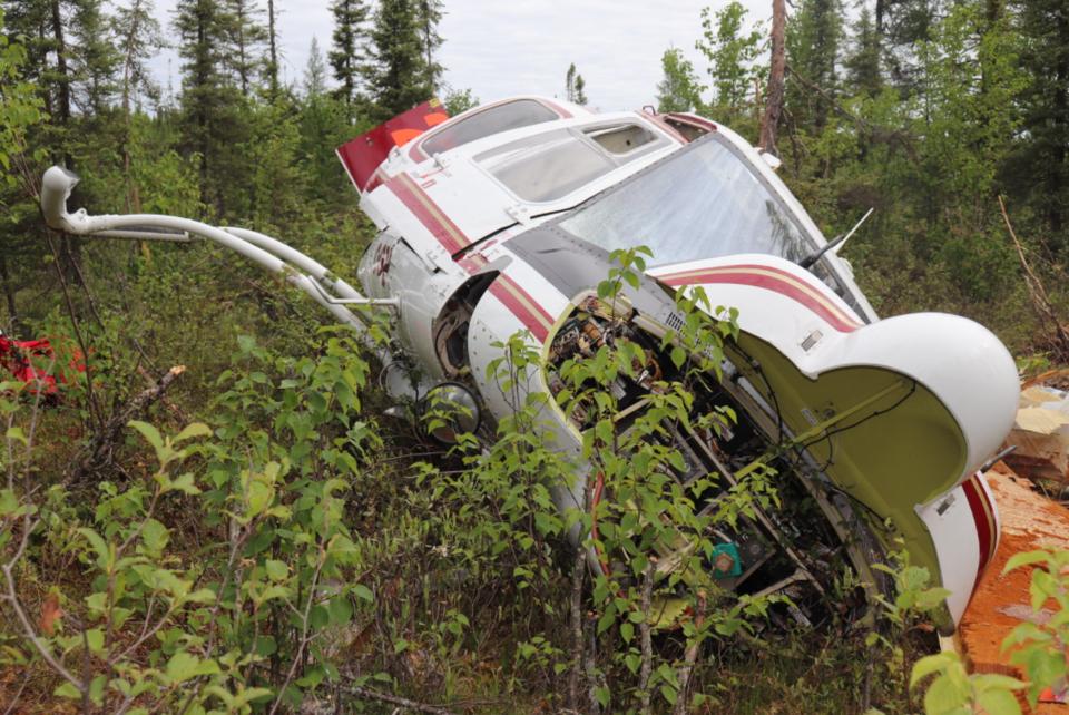 Nipigon helicoter crash