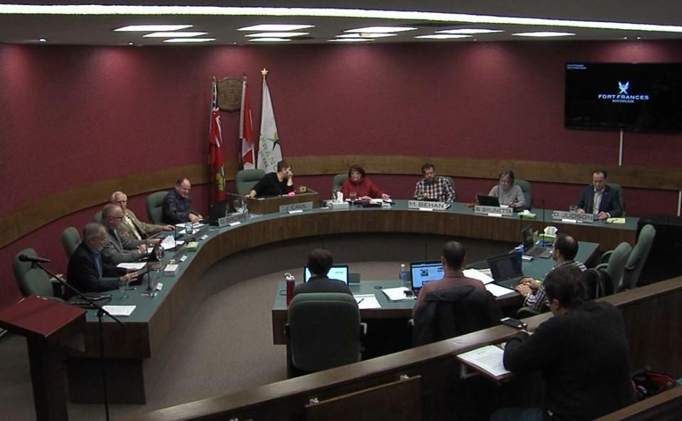 Fort Frances town council 2019