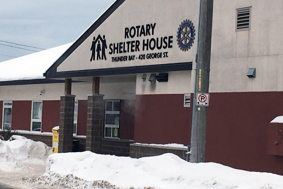 Thunder Bay Shelter House. (file).