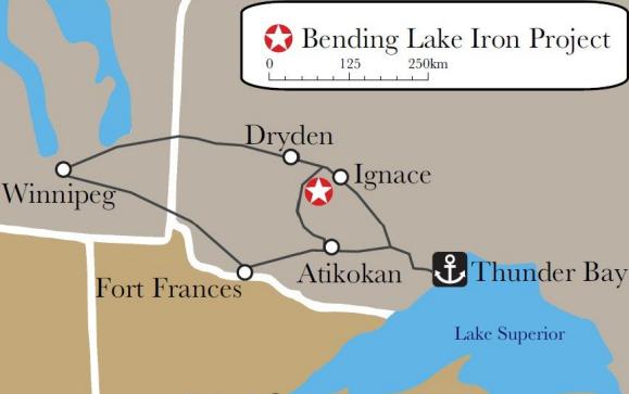 Bending Lake Iron Project