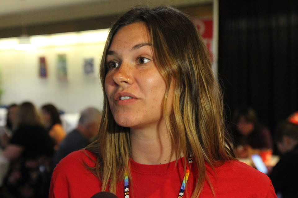 Beth Shaw will teach at Big Grassy River First Nation, Ont. this fall. (Michael Charlebois, tbnewswatch)
