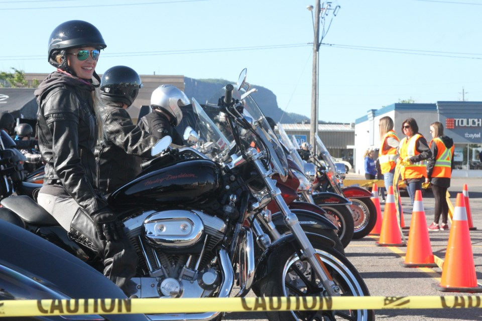 Over 200 motorcyclists took place in the Ride For Dad which is expected to raise over $50,000 for prostate cancer research. (Michael Charlebois, tbnewswatch)