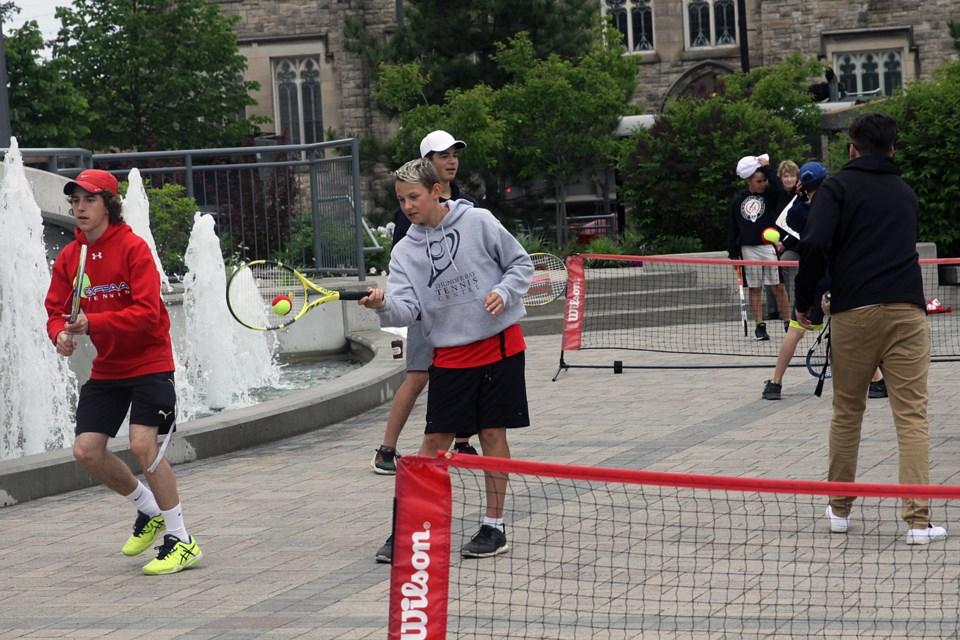 Tennis city hall