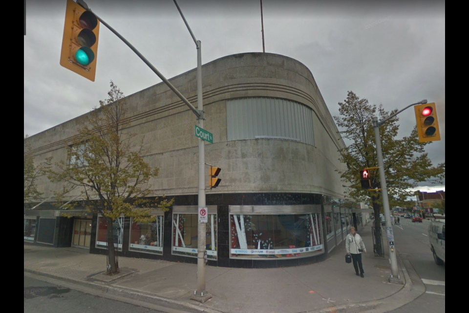 The former Eaton's department store was closed in 1997 (Google Street View)
