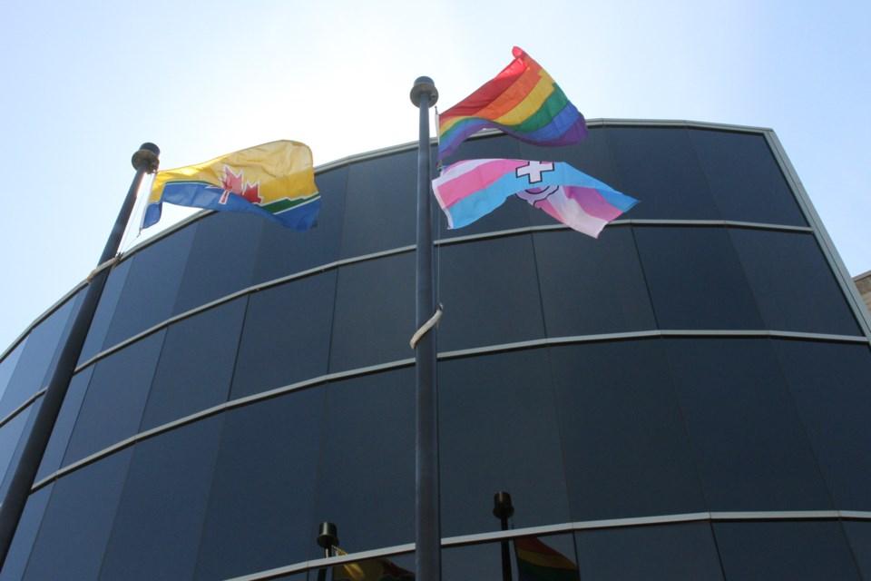 Pride flag-raising 2