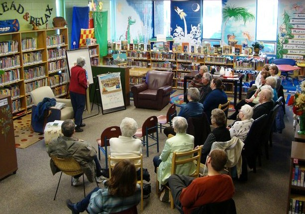 An advocacy campaign has been launched to share the important work done by Ontario Library Services - North. (Photos courtesy of SaveOLSN.ca).