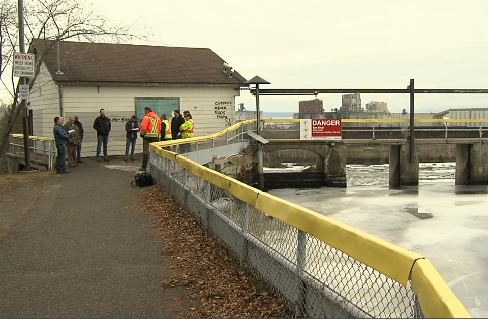 Boulevard dam inspection meeting