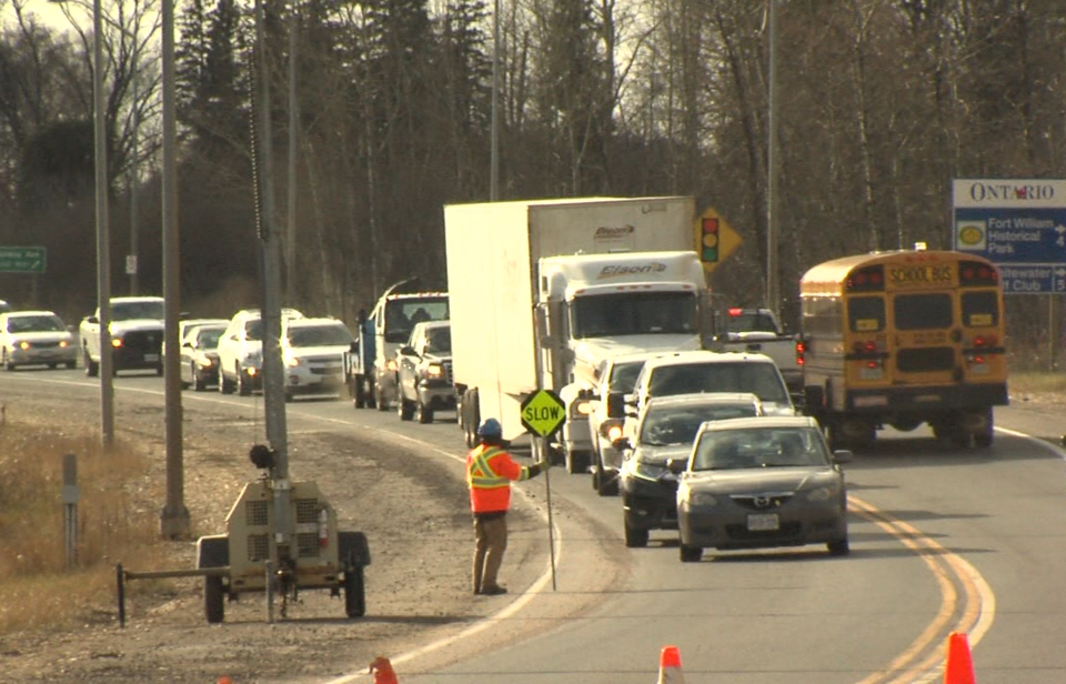 Highway 61 traffic control