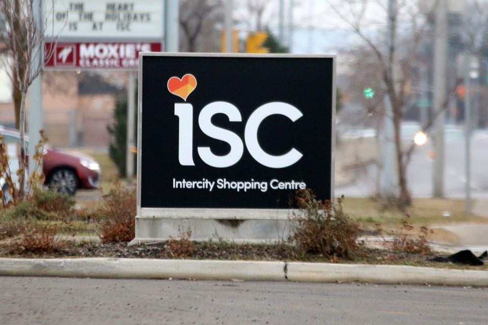 Intercity Shopping Centre Sign