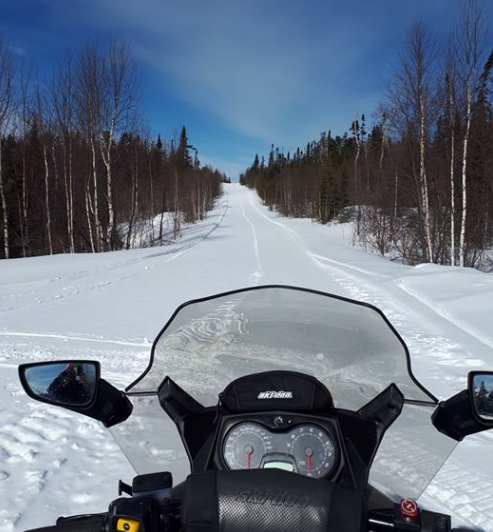 Snowmobilers warned about using modified snowmobile exhaust on trails