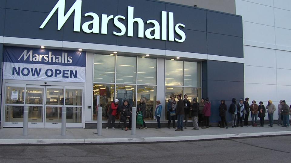 Marshalls Outside