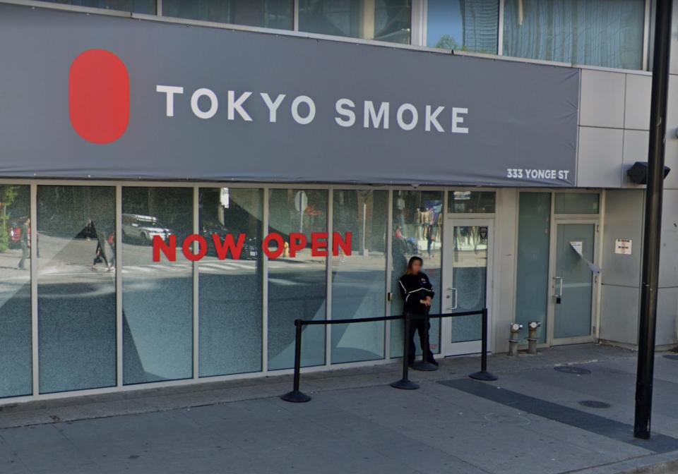 Tokyo Smoke sign Toronto