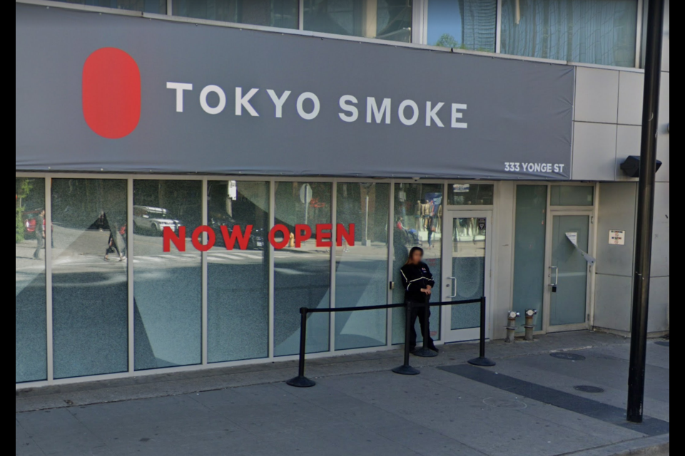 Tokyo Smoke already operates cannabis outlets in Toronto, Winnipeg and Brandon, MB (Google Street View)