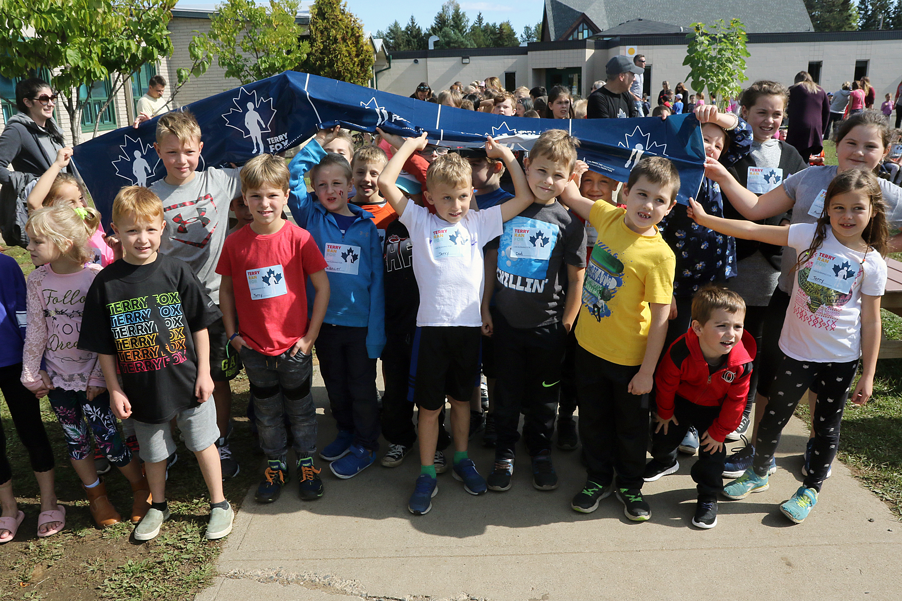 Holy Family carries on Terry Fox's legacy