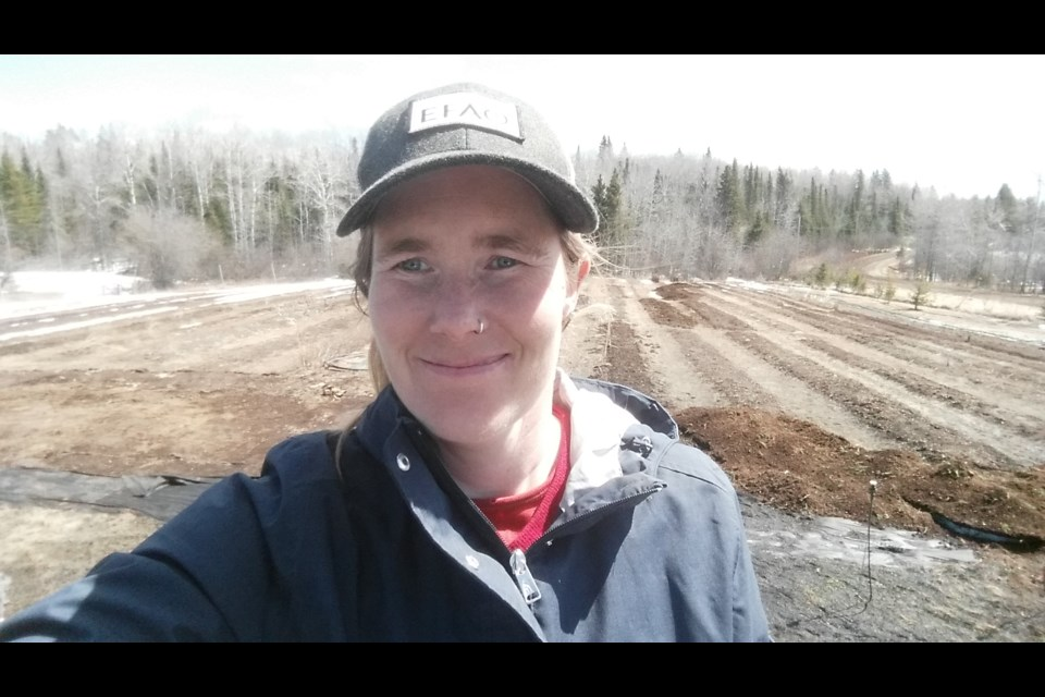 Evalisa McIllfaterick owns Root Cellar Gardens in Gillies Township near Thunder Bay (submitted photo)