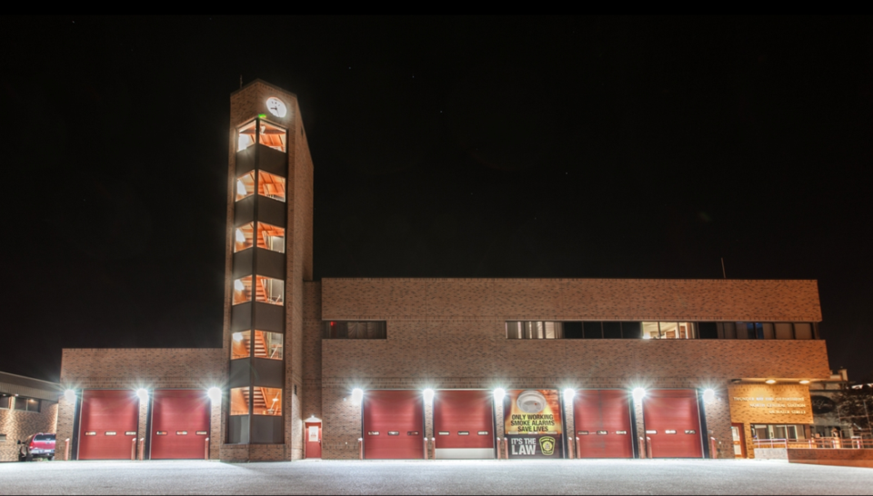 North Central fire hall