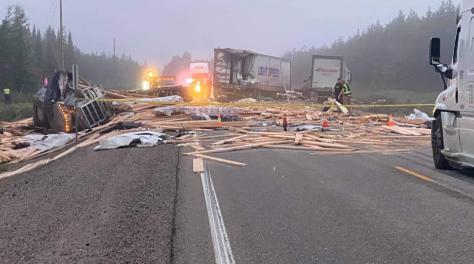 Highway 17 collision