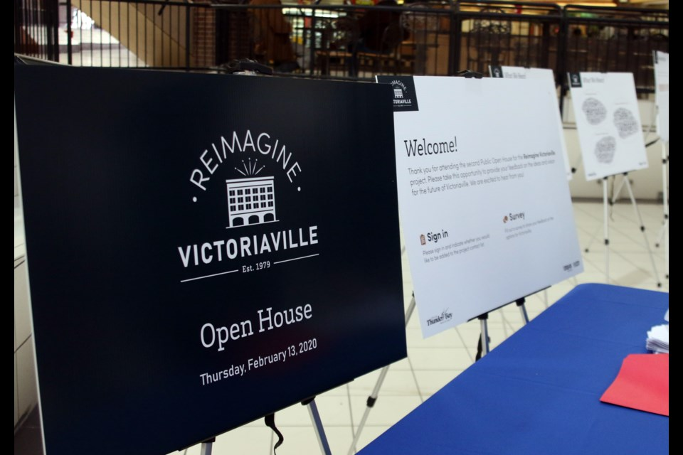 A public open house was held on Thursday for the Reimagine Victoriaville Mall Project. (Photos by Doug Diaczuk - Tbnewswatch.com).
