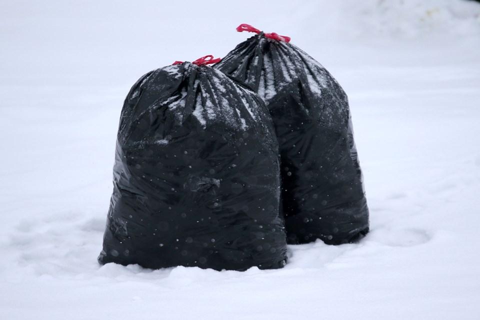 Garbage Bag Snow