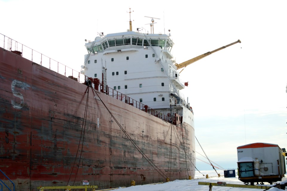 The Port of Thunder Bay saw nearly 9.3 metric tons in 2019, making it the best year since 2014. (Photos by Doug Diaczuk - Tbnewswatch.com).