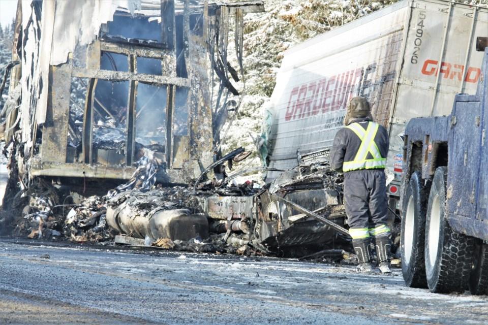 Sistonen's Corners Transport Crash 2