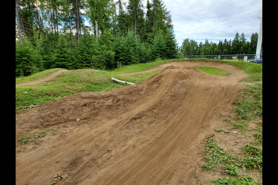 Riders have made modifications to the City of Thunder Bay's only BMX dirt track (Tbnewswatch photo)