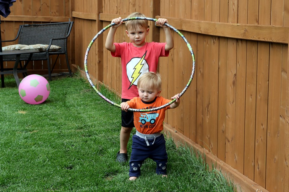 Cayden and Kolton Bell