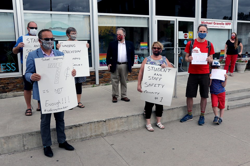 Teacher Protest for Safe Schools