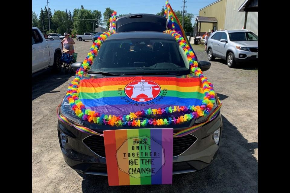 The Emo Ambush was held last Saturday to bring pride celebrations to the community. (Photo courtesy of Jason Veltri).