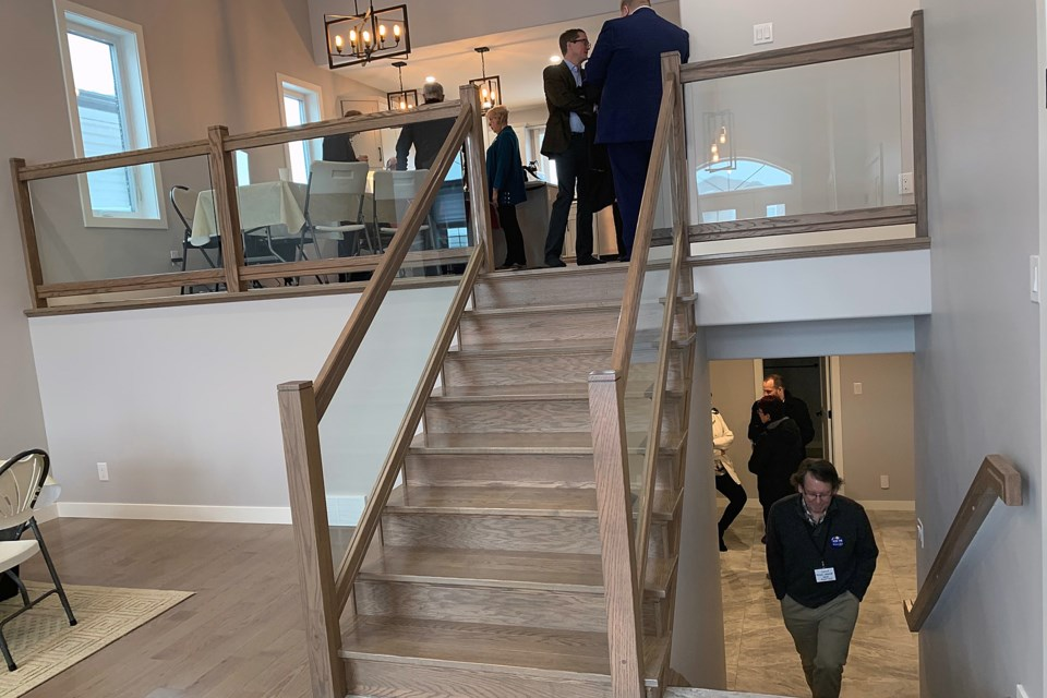 House Lottery Stairway