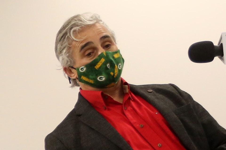 Bill Mauro Mask