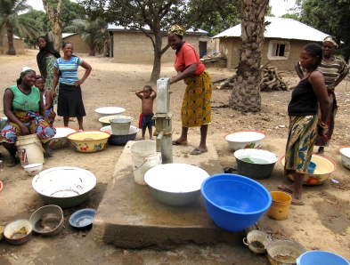 Lifewater Canada works with people in third-world countries to provide safe drinking water (Lifewater Canada)