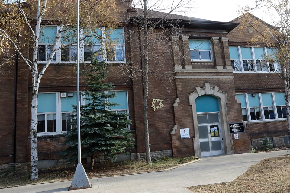 Lakehead Public Schools on Friday, Nov. 6, 2020, confirmed an individual associated with St. James Public School has tested positive for COVID-19. (Leith Dunick, tbnewswatch.com)