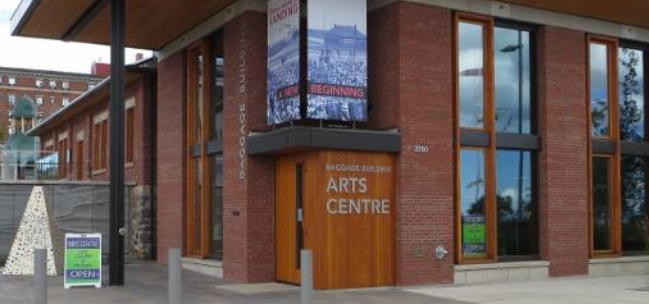 The Baggage Building Arts Centre at Prince Arthur's Landing has been closed since March 2020