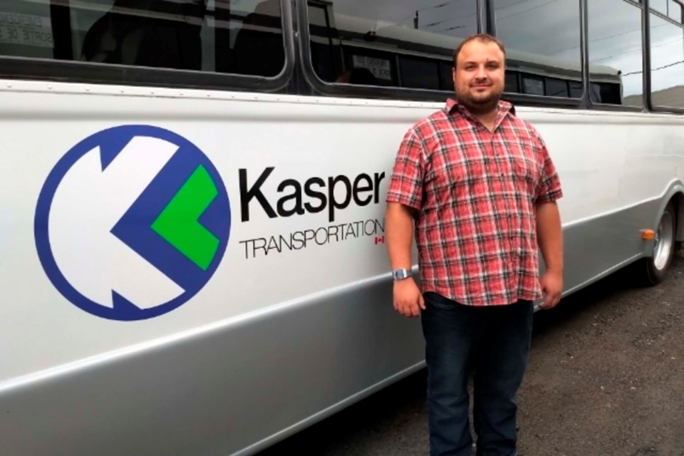 Kasper Wabinski is the CEO of Kasper Transportation (submitted photo)