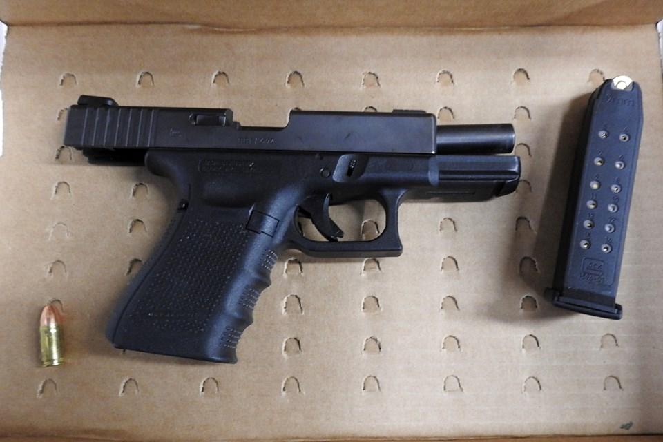 Police Gun Seizure