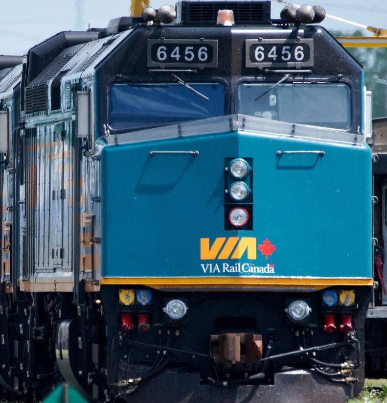 Via Rail locomotive