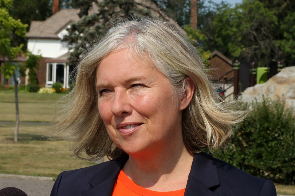 Chantelle Bryson is running for the NDP in Thunder Bay-Superior North in the 2021 federal election. (Leith Dunick, tbnewswatch.com)
