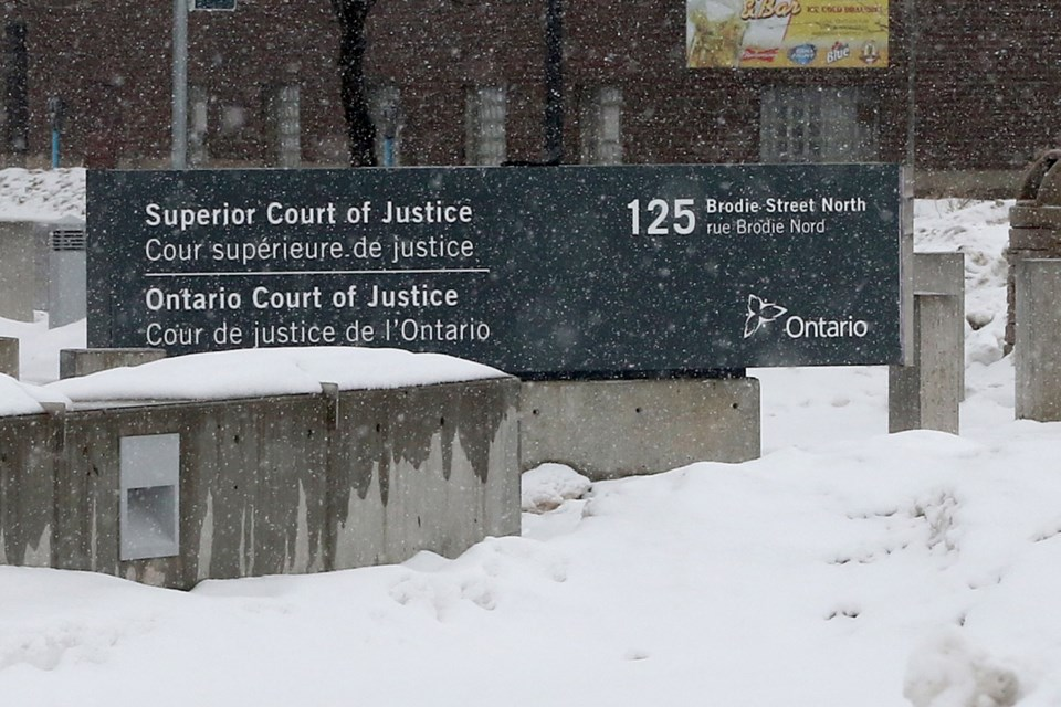 Thunder Bay Courthouse Winter